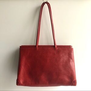 Furla Leather Shoulder Bag.  Made in Italy